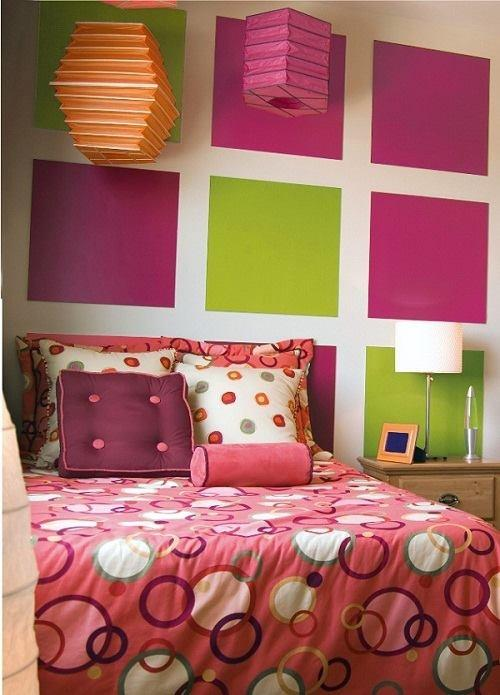 peinture pour les murs. Black Bedroom Furniture Sets. Home Design Ideas