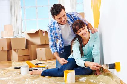 peinture pour la pi ce vivre que choisir. Black Bedroom Furniture Sets. Home Design Ideas