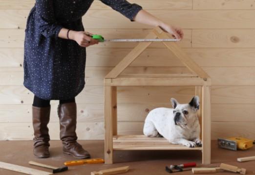 une niche en palette pour votre chien bricolage blog. Black Bedroom Furniture Sets. Home Design Ideas