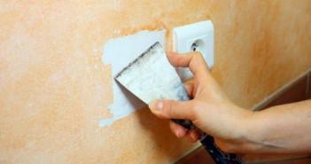 Boucher un trou dans un mur