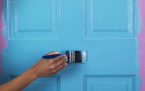 peindre-une-porte